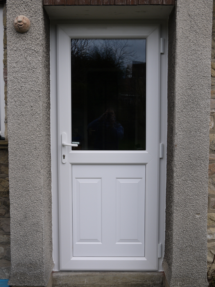 Doors mike thorpe windows for Upvc glass front doors